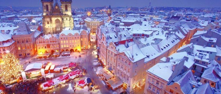В Прагу на Новый год 9 600 рублей