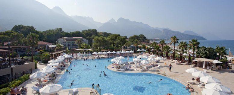 Школьные каникулы в Турции 59 100 рублей за семью, 5*, все включено