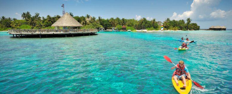 4* отель на Мальдивах 7 400 рублей