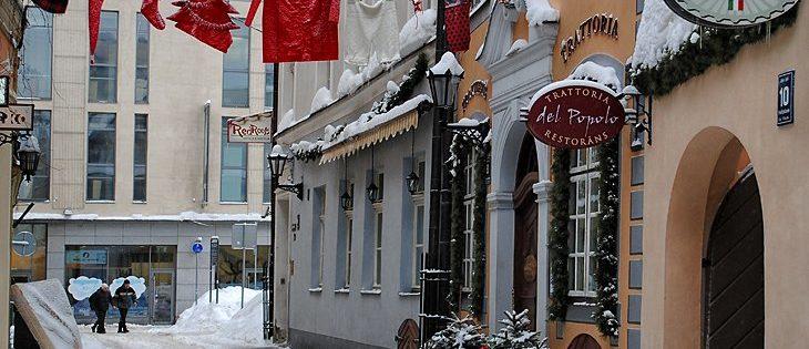 В Европу на Новый год 8 500 рублей