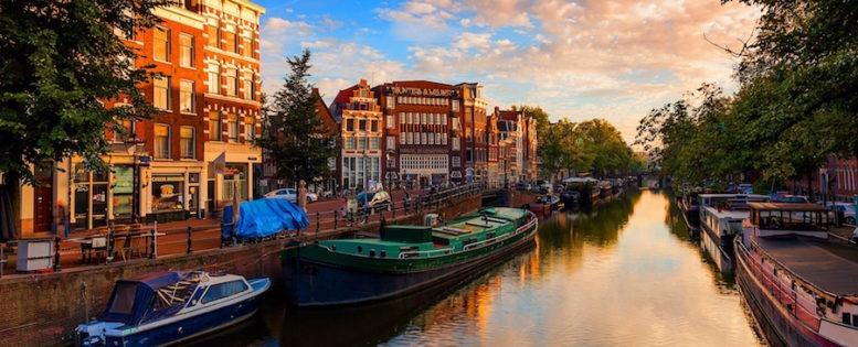 Прямые рейсы в Амстердам 16 100 рублей