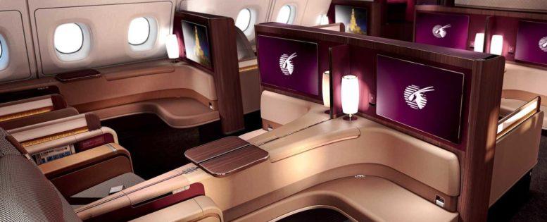 Qatar: бизнес-класс в Азию от 79 100 рублей