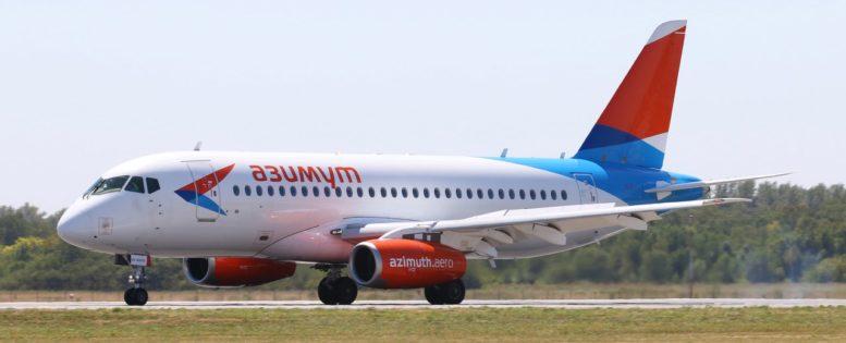 Азимут: полеты по России за 888 рублей