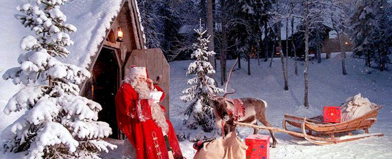 В Лапландию на Новый год 18 800 рублей