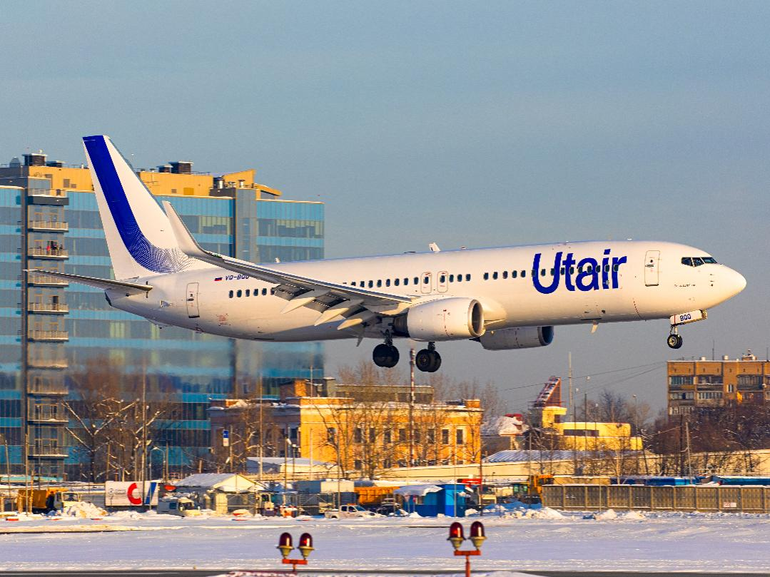 Полеты по России 2 300 рублей