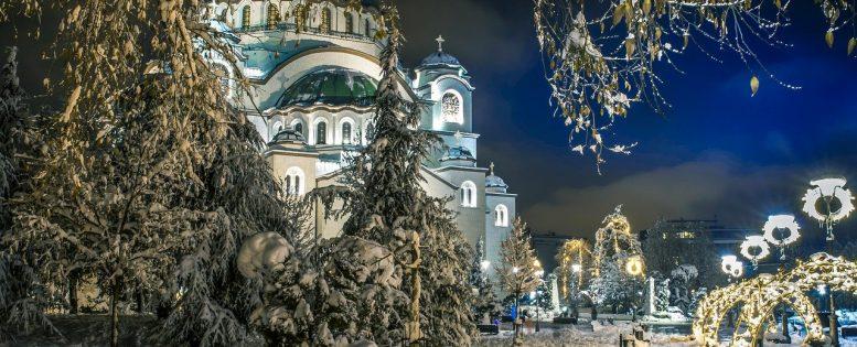 В Сербию на Новый год 12 700 рублей